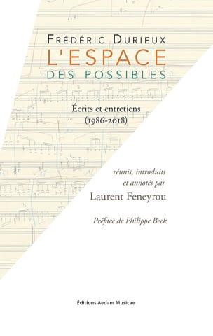 L'Espace des possibles Frédéric DURIEUX Livre laflutedepan