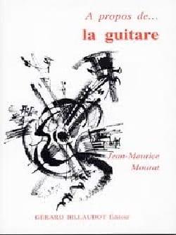 A propos de la guitare MOURAT Jean-Maurice Livre laflutedepan