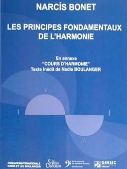 Les principes fondamentaux de l'harmonie Narcis BONET laflutedepan