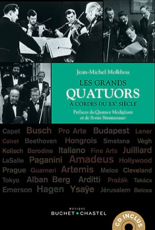 Jean-Michel MOLKHOU - Los grandes cuartetos de cuerda del siglo XX. - Livre - di-arezzo.es