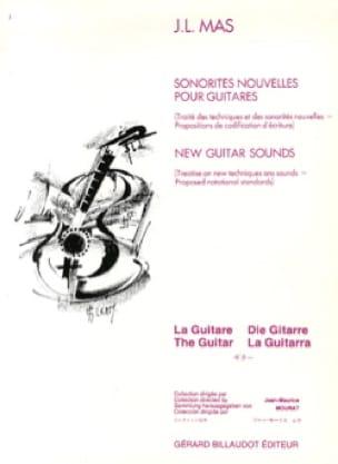 Sonorités nouvelles pour guitares - MAS Jean-Luc - laflutedepan.com