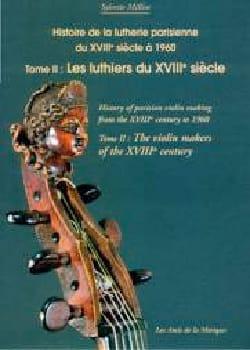 Histoire de la lutherie parisienne du XVIIIe siècle à 1960, Tome 2 laflutedepan