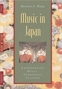 Music in Japan Bonnie WADE Livre Les Pays - laflutedepan