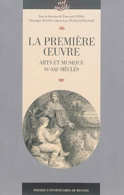 La première oeuvre : arts et musique (XVe-XXIe siècles) laflutedepan