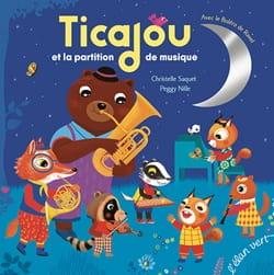Ticajou et la partition de musique Christelle SAQUET laflutedepan