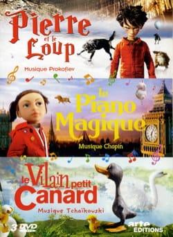 Pierre et le loup / Le piano magique / Le vilain petit canard laflutedepan