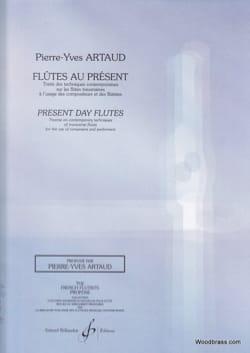 Flûtes au présent ARTAUD Pierre-Yves Livre laflutedepan