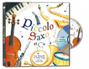 Piccolo Saxo et Cie BROUSOLLE Jean / POPP André Livre laflutedepan