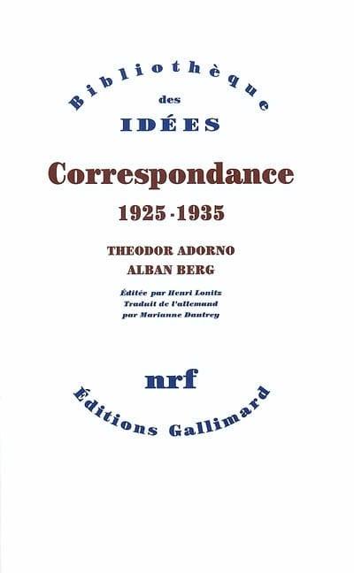 Correspondance 1925-1935 - laflutedepan.com