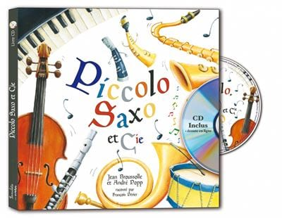 Piccolo Saxo et Cie - BROUSOLLE Jean / POPP André - laflutedepan.com