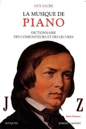 La musique de piano, vol. 2 : J-Z Guy SACRE Livre laflutedepan