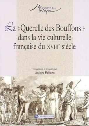 La Querelle des Bouffons dans la vie culturelle française du XVIIIe siècle laflutedepan