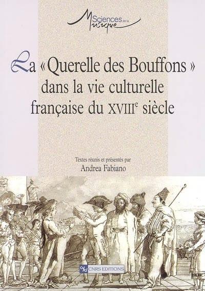 La Querelle des Bouffons dans la vie culturelle française du XVIIIe siècle - laflutedepan.com