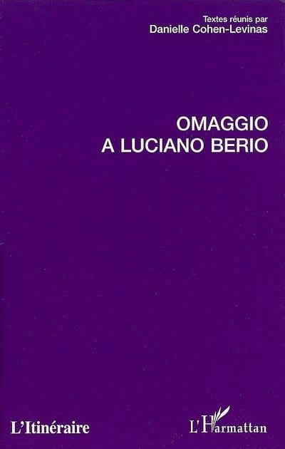 Omaggio a Luciano Berio - Collectif - Livre - laflutedepan.com