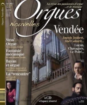 Orgues Nouvelles n°37 - Revue - Livre - laflutedepan.com