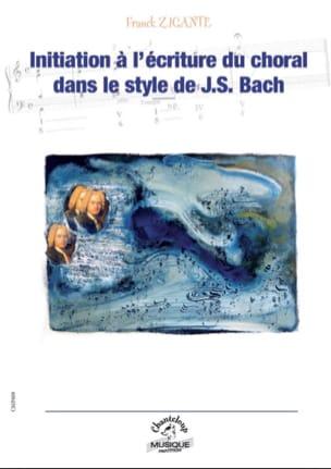 Initiation à l'écriture du choral dans le style de J.-S. Bach laflutedepan