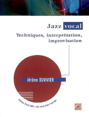 Jazz vocal : techniques, interprétation, improvisation laflutedepan