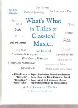What's what in titles of classical music... and beyond - laflutedepan.com