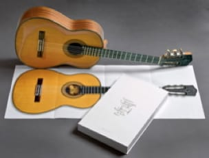Guitares classiques en taille réelle - laflutedepan.com