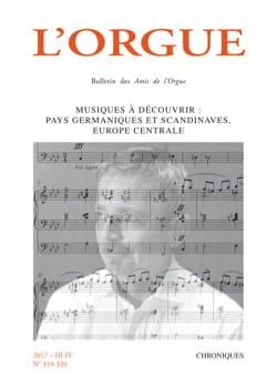 L'orgue, n° 319-320 Revue Livre Les Instruments - laflutedepan