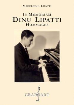 In memoriam : Dinu Lipati, hommages Madeleine LIPATTI laflutedepan