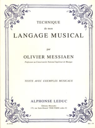 Olivier MESSIAEN - Técnica de mi lenguaje musical - Livre - di-arezzo.es