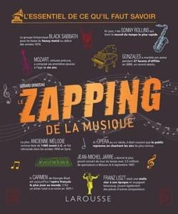 Le zapping de la musique Gérard DENIZEAU Livre laflutedepan
