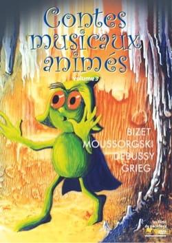 Contes musicaux animés, vol. 3 (DVD) Collectif Livre laflutedepan