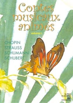 Contes musicaux animés, vol. 2 (DVD) Collectif Livre laflutedepan