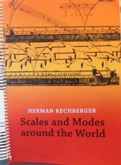 Scales and modes around the world Herman RECHBERGER Livre laflutedepan