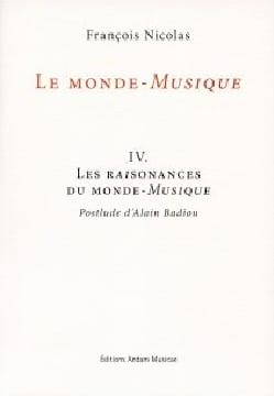 Le monde-musique IV: Les raisonances du Monde-Musique laflutedepan