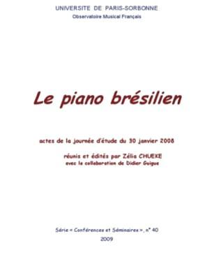 Le piano brésilien Zélia CHUEKE Livre Les Instruments - laflutedepan