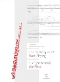 The Techniques of Flute Playing (Livre en anglais-allemand) laflutedepan