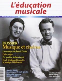 L'éducation musicale, n° 560 : Dossier musique et cinéma laflutedepan
