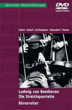 Ludwig van Beethoven : Die Streichquartette (Livre en allemand, avec DVD) laflutedepan