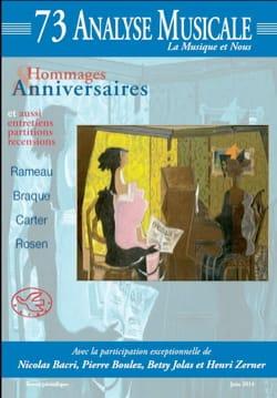 Analyse musicale, n° 73 : Hommages et anniversaires Revue laflutedepan