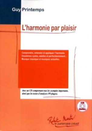 Harmonie Par Plaisir - Guy PRINTEMPS - Livre - laflutedepan.com