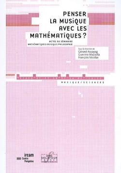 Penser la musique avec les mathématiques ? COLLECTIF laflutedepan