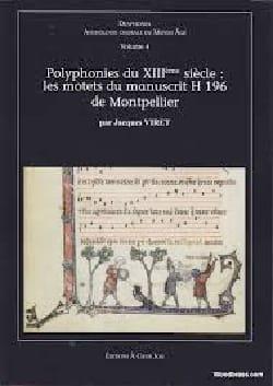 Diaphonia n°4: Polyphonies du XIIIe siècle Jacques VIRET laflutedepan
