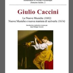 Le nuove musiche (1602) - Giulio CACCINI - Livre - laflutedepan.com