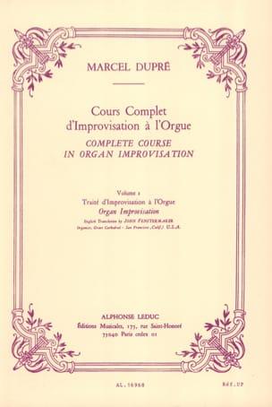Cours complet d'improvisation à l'orgue, volume 2 DUPRÉ laflutedepan