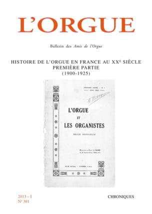 L'Orgue, n° 301 (2013/I) Revue Livre Revues - laflutedepan