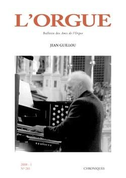 L'Orgue, n° 281 (2008/I) Revue Livre Revues - laflutedepan