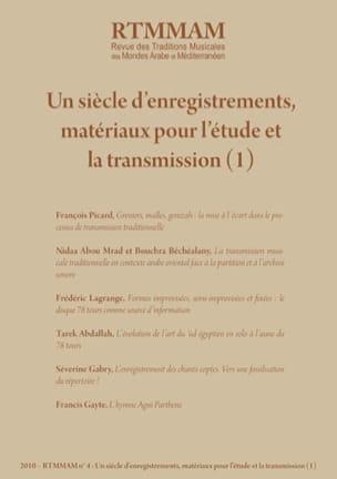 RTM n°4 : Un siècle d'enregistrements, matériaux pour l'étude et la transmission laflutedepan
