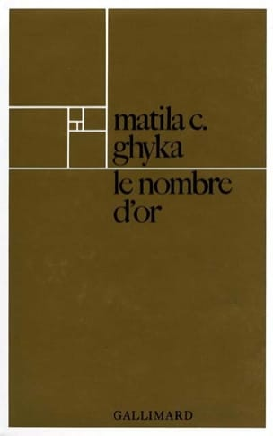 Le Nombre d'or GHYKA Matila Costiescu Livre laflutedepan