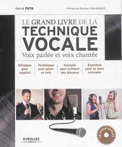 Le grand livre de la technique vocale : voix parlée et voix chantée laflutedepan