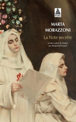 La Note secrète Marta MORAZZONI Livre Les Arts - laflutedepan