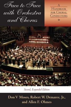 Face to face with orchestra and chorus : a handbook for choral conductors laflutedepan