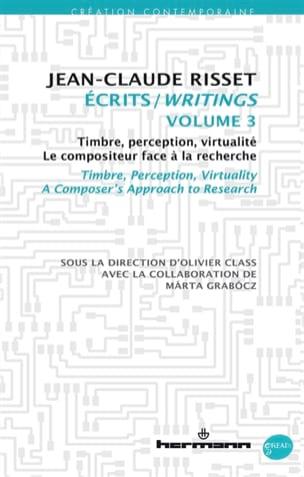 Ecrits, volume 3 Jean-Claude RISSET Livre Les Sciences - laflutedepan