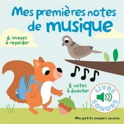 Mes premières notes de musique Marion BILLET Livre laflutedepan